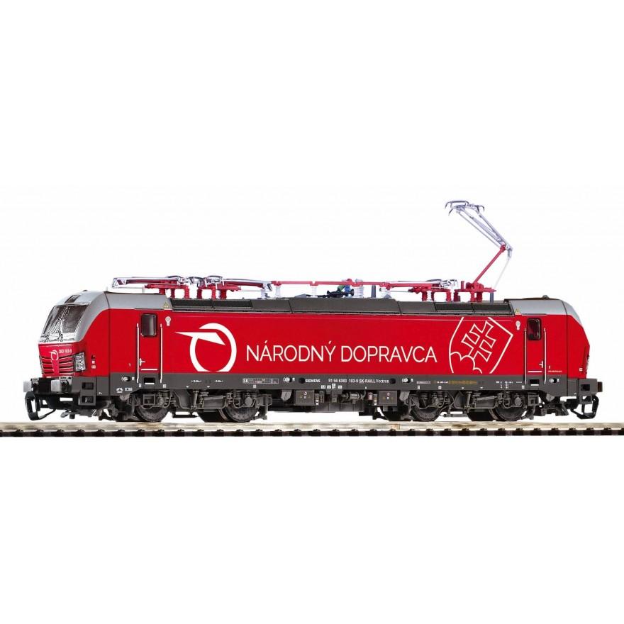 PIKO 47387 E-Lok Vectron der ZSSK Epoche VI Spur TT