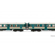 FS, 2-unit pack of diesel railcars ALn 668 1900 original livery, motorized unit