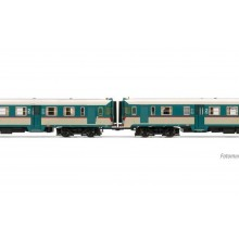 FS, 2-unit pack of diesel railcars ALn 668 1900 original livery with rounded fro